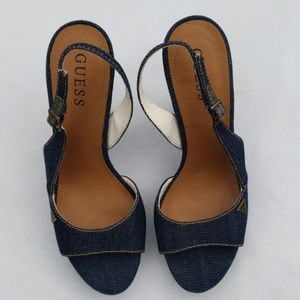 Guess wedges women's size 7.5